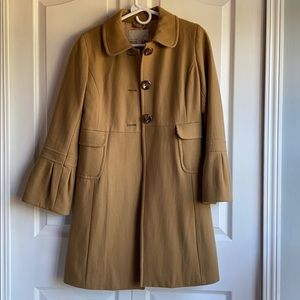 Light brown old navy trench coat